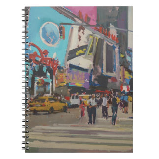 Times Square 2012 Notebook
