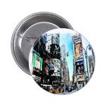 Times Square 2 Inch Round Button