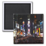 times square 2 inch square magnet