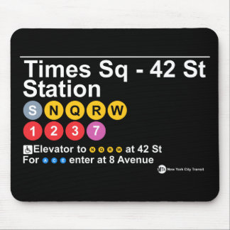 Times Square - 42 Street Station Mouse Pad