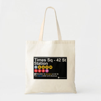 Times Square - 42 Street Station Tote Bag