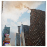 Times Square and the Paramount Building Napkin