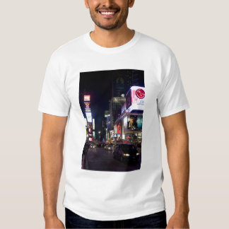 Times Square at night in Manhattan, New York Shirt