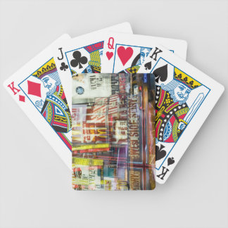Times Square at Twilight Bicycle Playing Cards