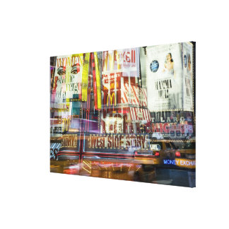 Times Square at Twilight Canvas Print