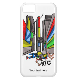 Times Square Ball Drop Funny Cartoon Cover For iPhone 5C