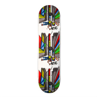 Times Square Ball Drop New Years Day Skateboard Deck