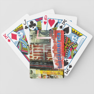 Times Square Bicycle Playing Cards