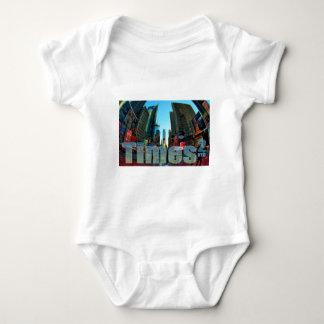Times Square Broadway New York City, New York Baby Bodysuit