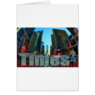 Times Square Broadway New York City New York Greeting Cards
