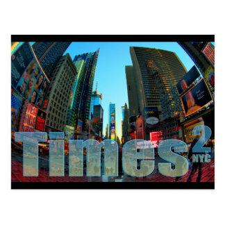 Times Square Broadway New York City New York Postcard