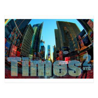 Times Square Broadway New York City, New York Postcard