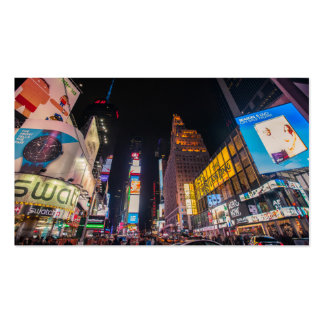 Times Square Business Cards
