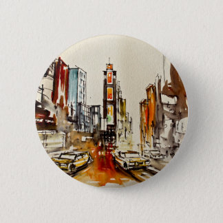 Times Square Button Badge