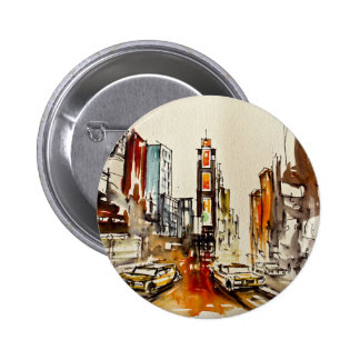 Times Square Button Badge