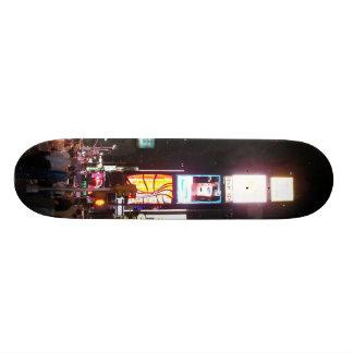 times square by lensgerrit skateboard