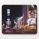 Times Square by Night Mouse Pad