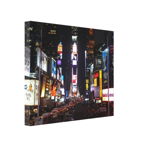 times square canvas gallery wrapped canvas