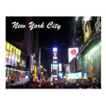 times square city postcard