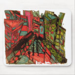 times square cnbc ink mouse pad