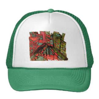 times square cnbc ink trucker hat