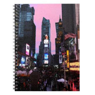 Times Square Cuaderno