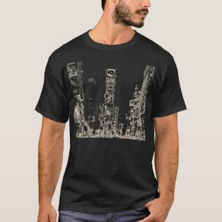 Times Square Dark Mens Basic T-Shirt