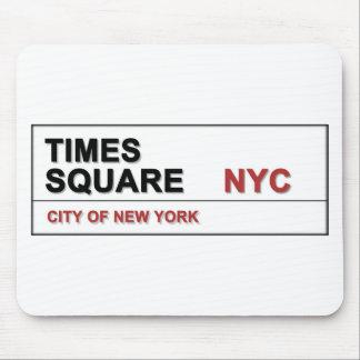 Times Square de New York City Alfombrilla De Ratones