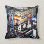 Times Square de NYC Cojín Decorativo