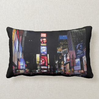 Times Square-Empire State Building NYC Throw Pillow