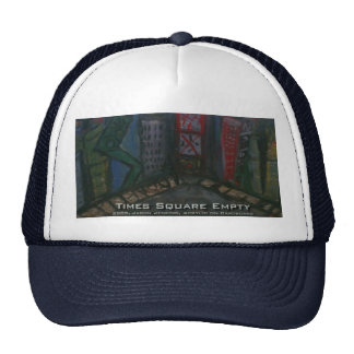 times square emtpy trucker hat