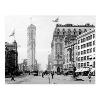 Times Square en 1908 Tarjeta Postal