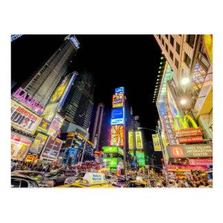 Times Square en la ciudad que nunca duerme Postal