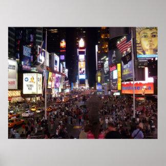 Times Square en la noche Impresiones