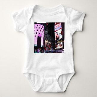 Times Square en New York City (rosa) Playera