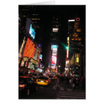 Times Square Greeting Cards