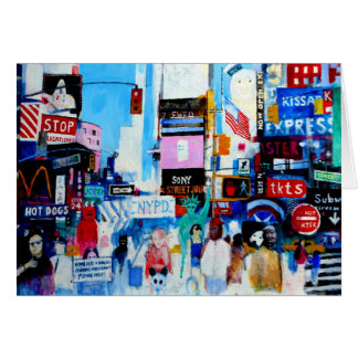 Times Square II Card