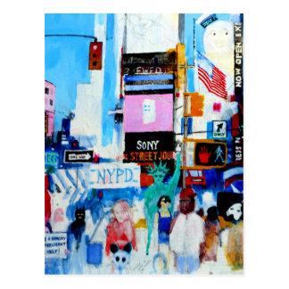 Times Square II Postcard