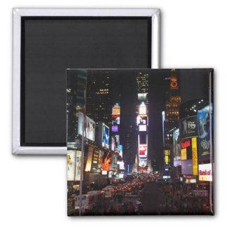 Times Square Imán Cuadrado