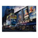 Times Square in Manhattan Postcard