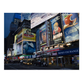 Times Square in Manhattan Postcard