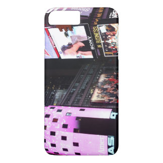 Times Square in New York City (pink) iPhone 8 Plus/7 Plus Case