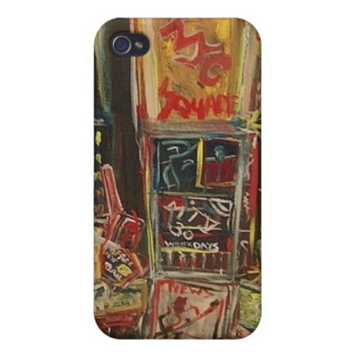 TIMES SQUARE KIEV iPhone 4 COVER