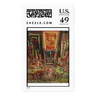 Times Square kiev Postage Stamp