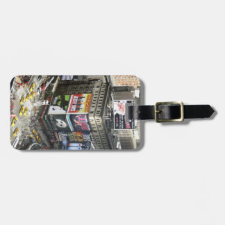 Times Square Luggage Tag