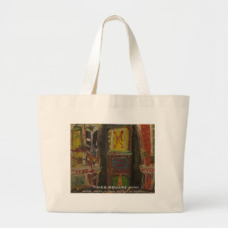 times square mini canvas bags