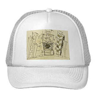 TIMES SQUARE MONDAYS TRUCKER HAT
