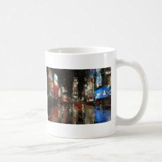 times square mosaic coffee mugs