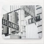 Times Square Mousepad de Broadway