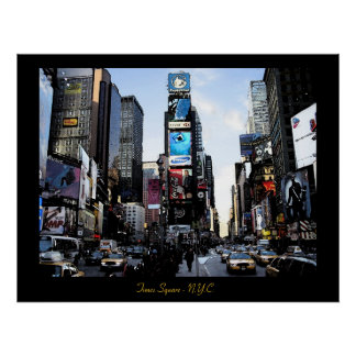 Times Square - N.Y.C.  Poster print